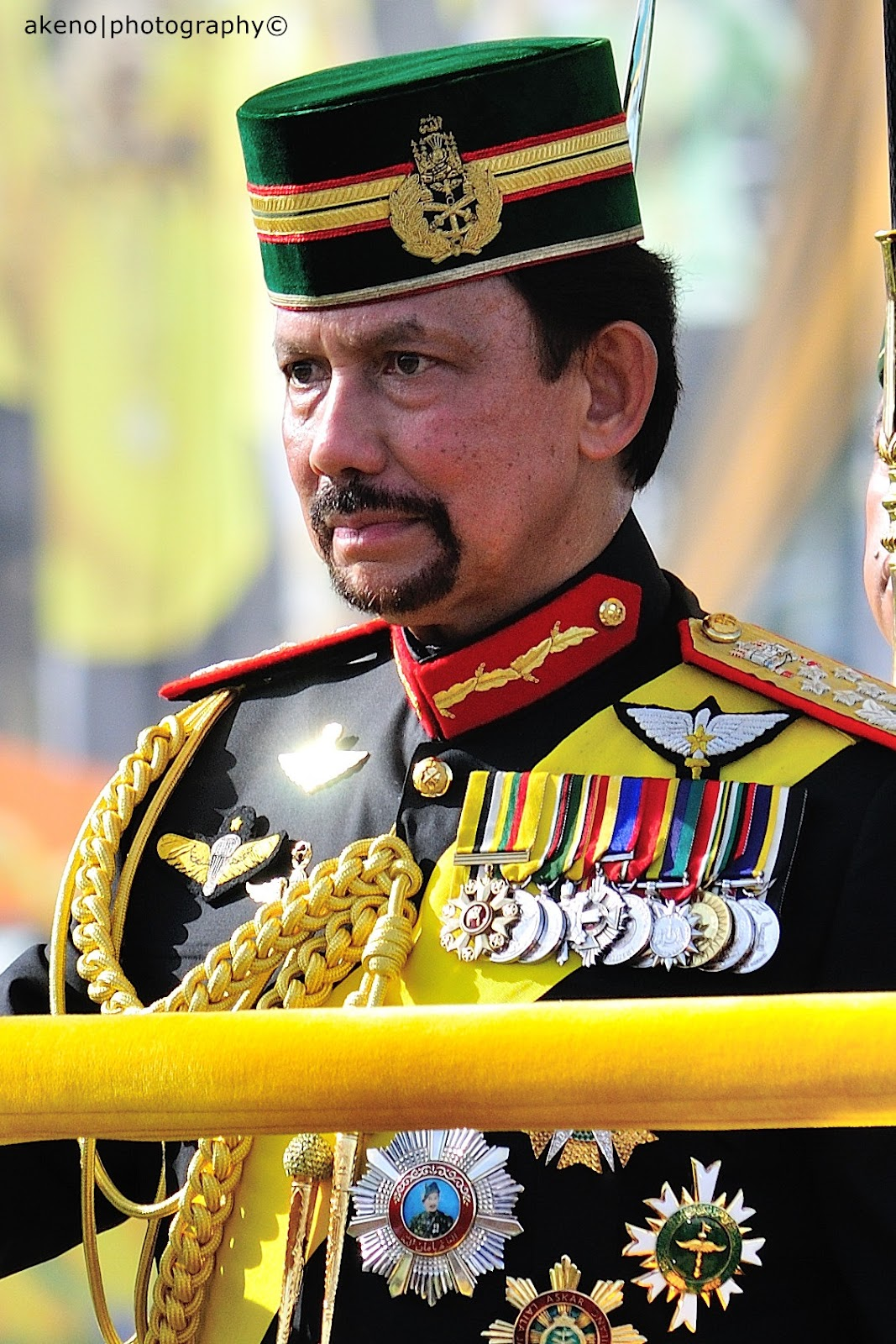 Sharing is Caring our beloved Sultan of Brunei