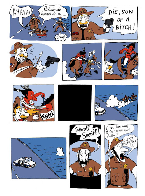 American Dream de Bazil aux editions Bang. ediciones page 15