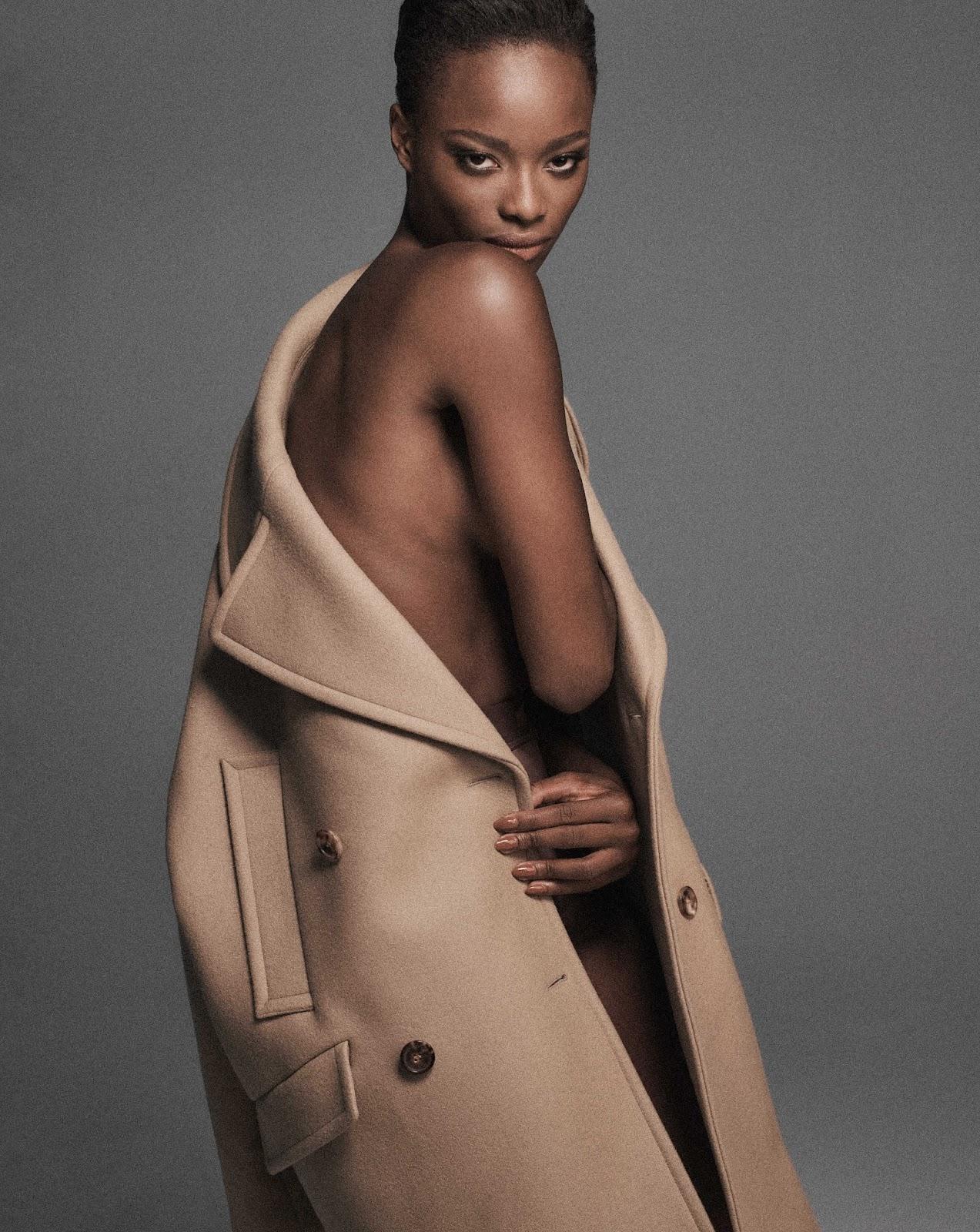 Mayowa Nicholas in Elle US September 2021 by Chris Colls