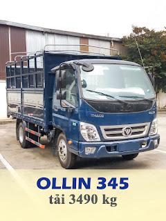 xe tải thaco ollin 345 tải trọng 3,5 tấn