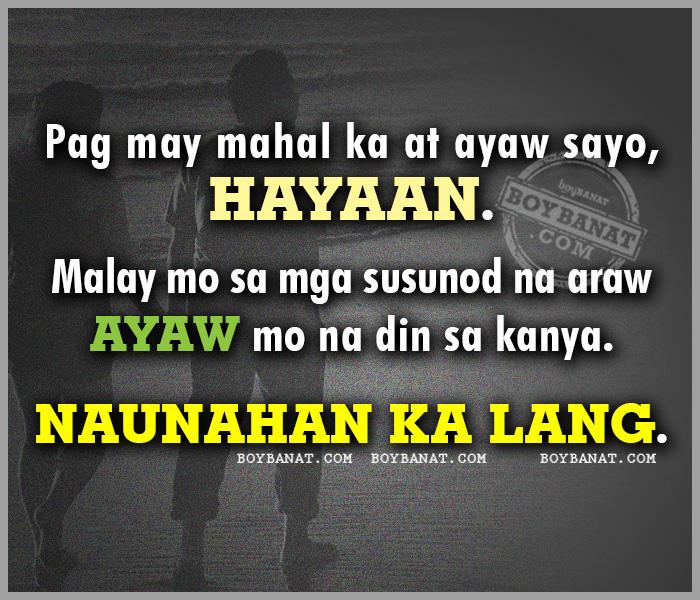 Tagalog Quotes About Broken Marriage: Patama Quotes Sa Kanya. QuotesGram