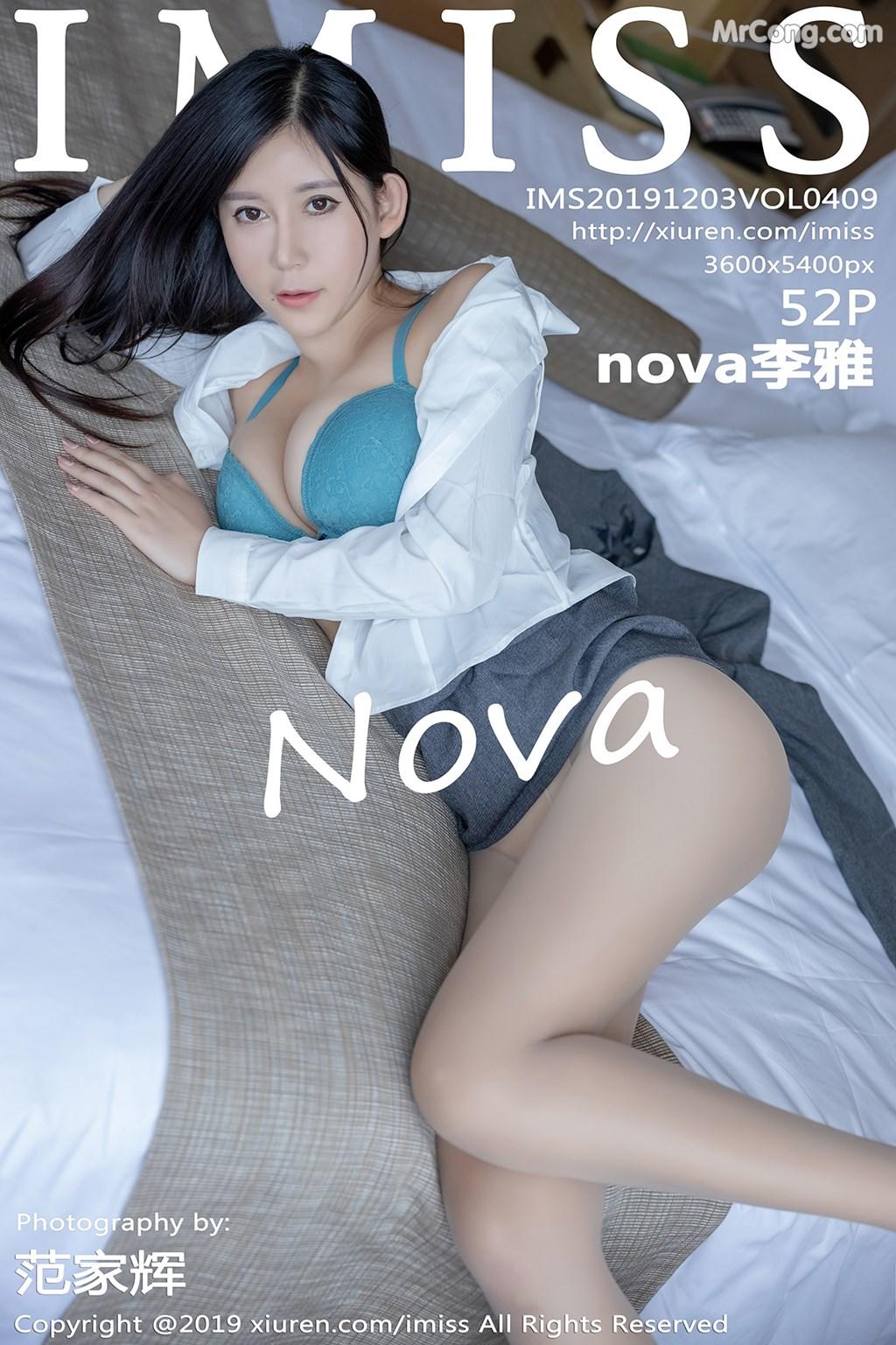 IMISS Vol.409: nova李雅 (53 ảnh)