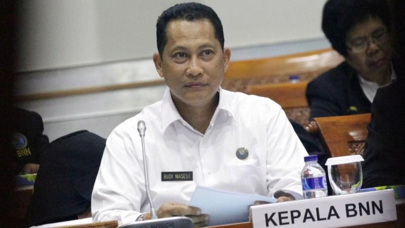 Kepala BNN Komjen Budi Waseso