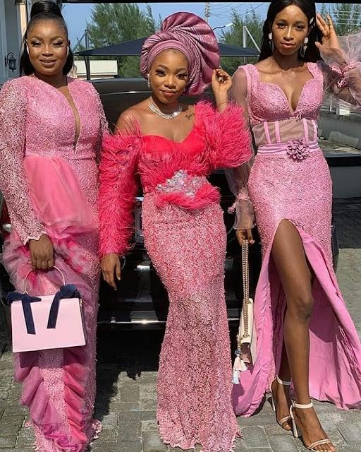 2019 Beautiful Asoebi Styles for Asoebi Ladies