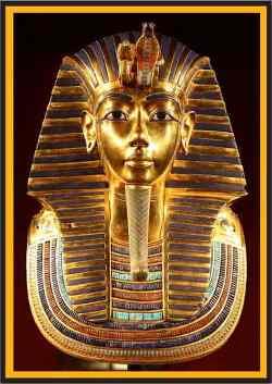 قناع توت عنخ آمون الذهبي - أوراق مجتمع