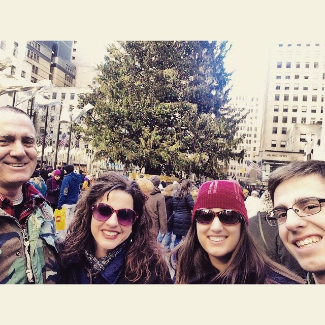 Family Visit to New York City