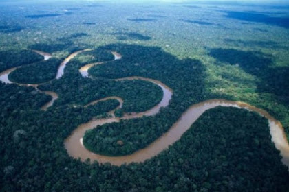 8 Sungai Terpanjang Di Dunia - No.7 belum pernah kamu denger