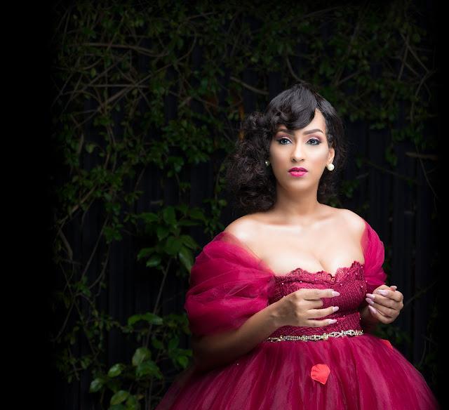 Actress Juliet Ibrahim Is Gorgeous In Garden Inspired Birthday Shoots