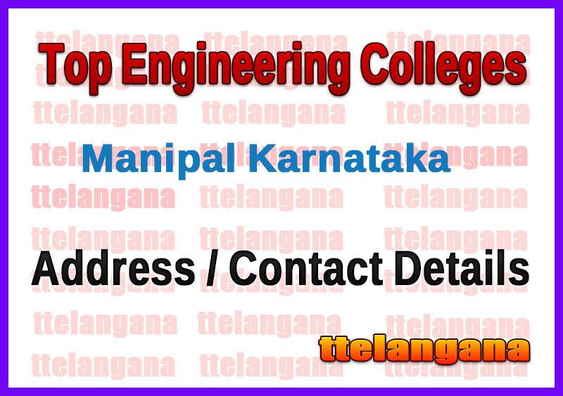 Top Engineering Colleges in Manipal Karnataka