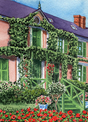 Giverny Mansion France House Of Claude Monet Near Paris