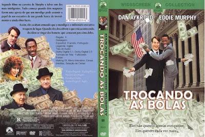 Filme Trocando as Bolas (Trading Places) DVD Capa