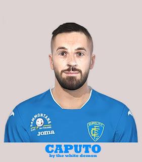 PES 2019 Faces Francesco Caputo by The White Demon