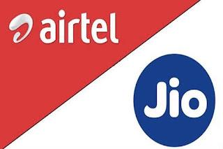 airtel and jio telecom company