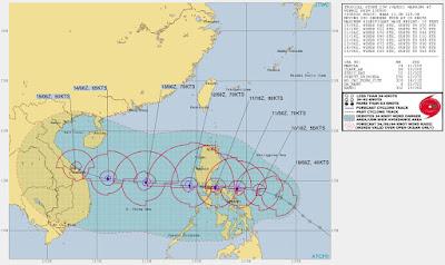 Vietnam braces for Typhoon Vamco