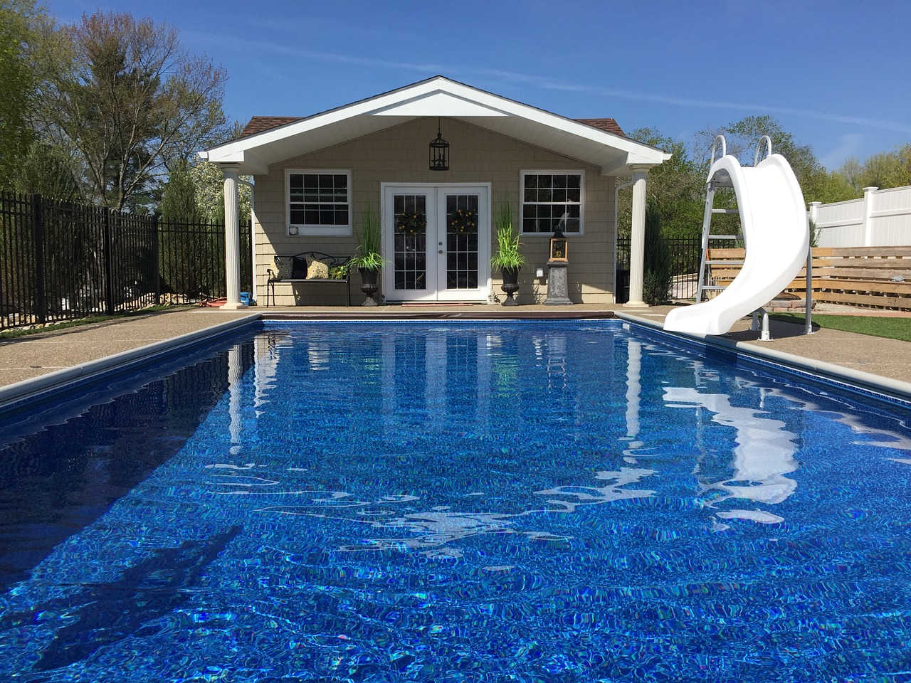Ground Pool Deck