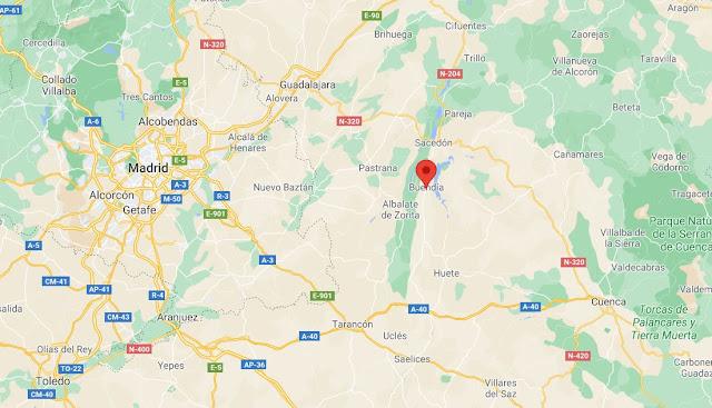dónde está Buendía en Cuenca y cómo llegar