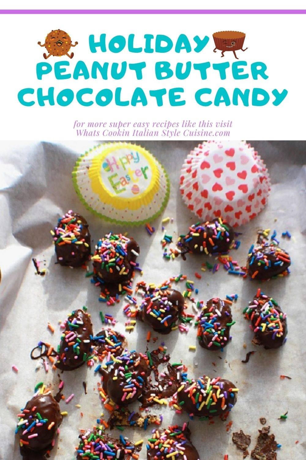 pin for later how to make homemade peanut butter candy
