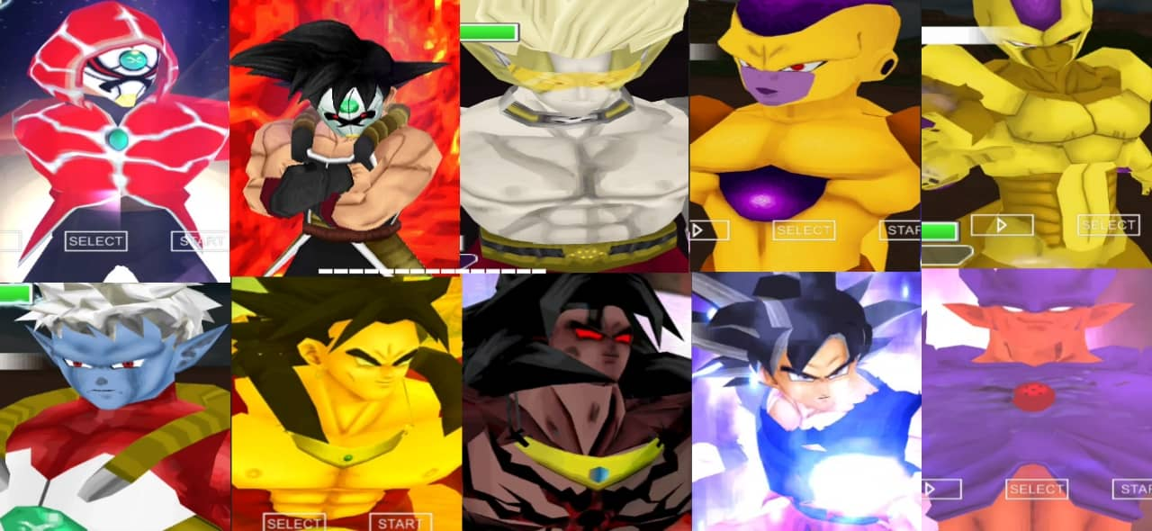Super Dragon Ball Heroes PSP ISO Game