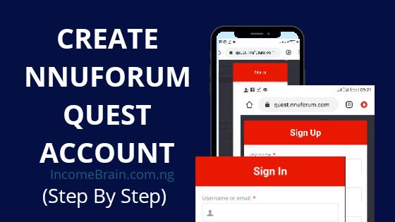 Create website like NNUForum Quest site