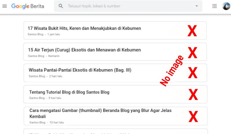 cara mengatasi gambar thumbnail blog