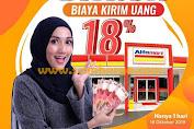 Promo Alfamart Diskon 18% Biaya Kirim Uang Hanya 1 Hari 18 Oktober 2019