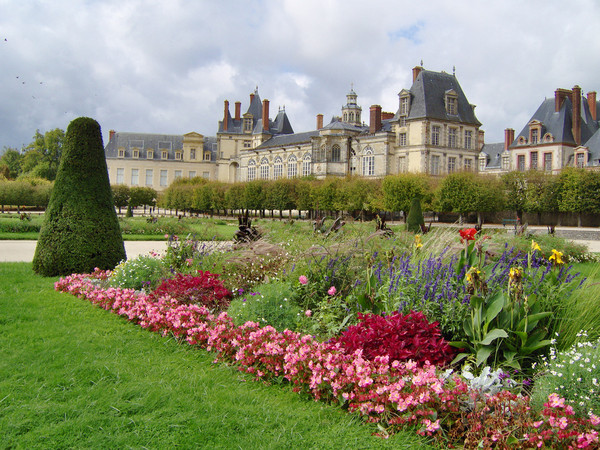 The Interiors Of Chateau Fontainebleau
