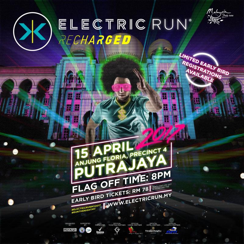 Electric Run 2017 Is Back For The Third Year Running In Malaysia With A Recharged Concept And New Venue