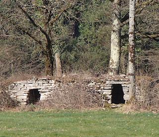 Cabanes de pierres seches