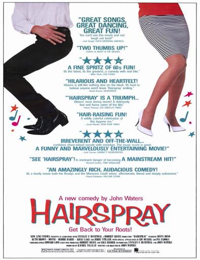 Ver Hairspray, fiebre de los 60 (1988) Online