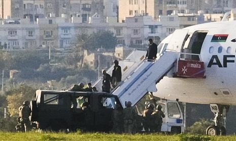 Pembajak Pesawat Libya Dipenjara 25 Tahun di Malta