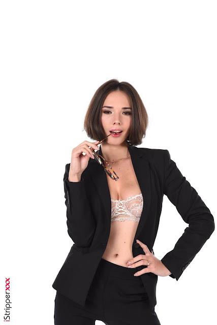 IStripper - Eve Sweet nude in BUSINESS CLASS 3
