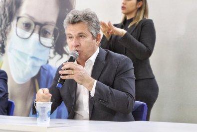 Secretário revela que Mauro não tem mais febre e está perto de receber alta
