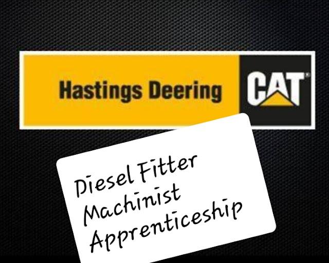 Diesel fitter Machinist Apprentice