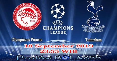Prediksi Bola855 Olympiacos Piraeus vs Tottenham 18 September 2019