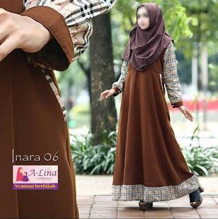 Gamis A-lina Collection Inara 06