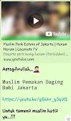 """Analisa Tentang Video Provokatif """"Muslim Pemakan Daging Babi Jakarta"""""""