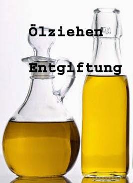 Ölziehen Entgiftung