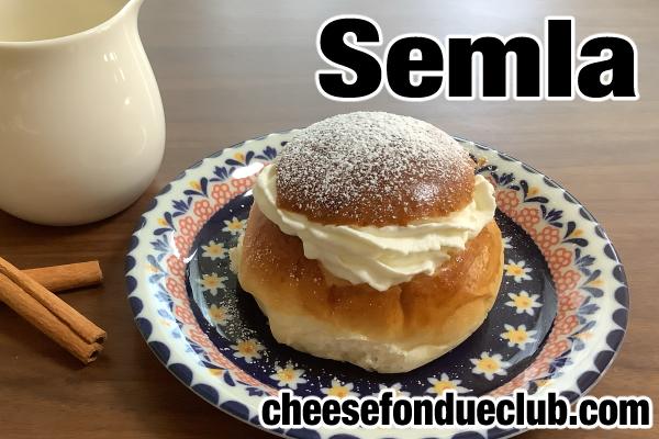 セムラのレシピ Semlor