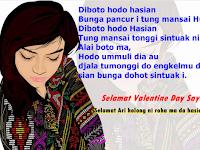 Ucapan Hari Valentine Day Dalam Bahasa Batak Kepada Pacar dan Gebetan