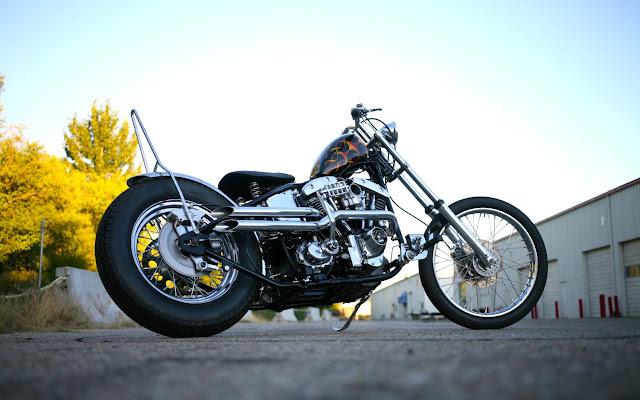 Harley Davidson Shovelhead By Wrecked Metals Hell Kustom