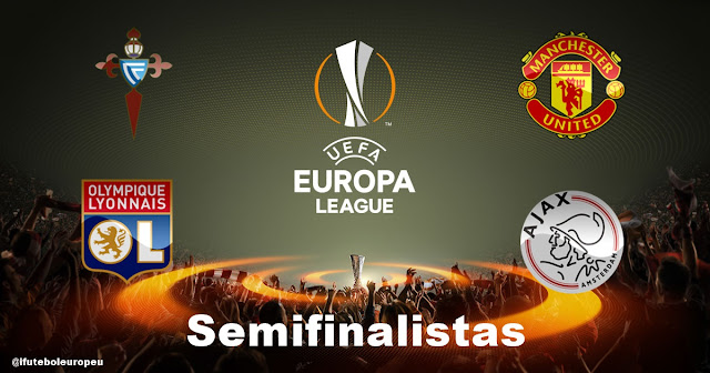 Definidos os semifinalistas da Europa League 2016/17