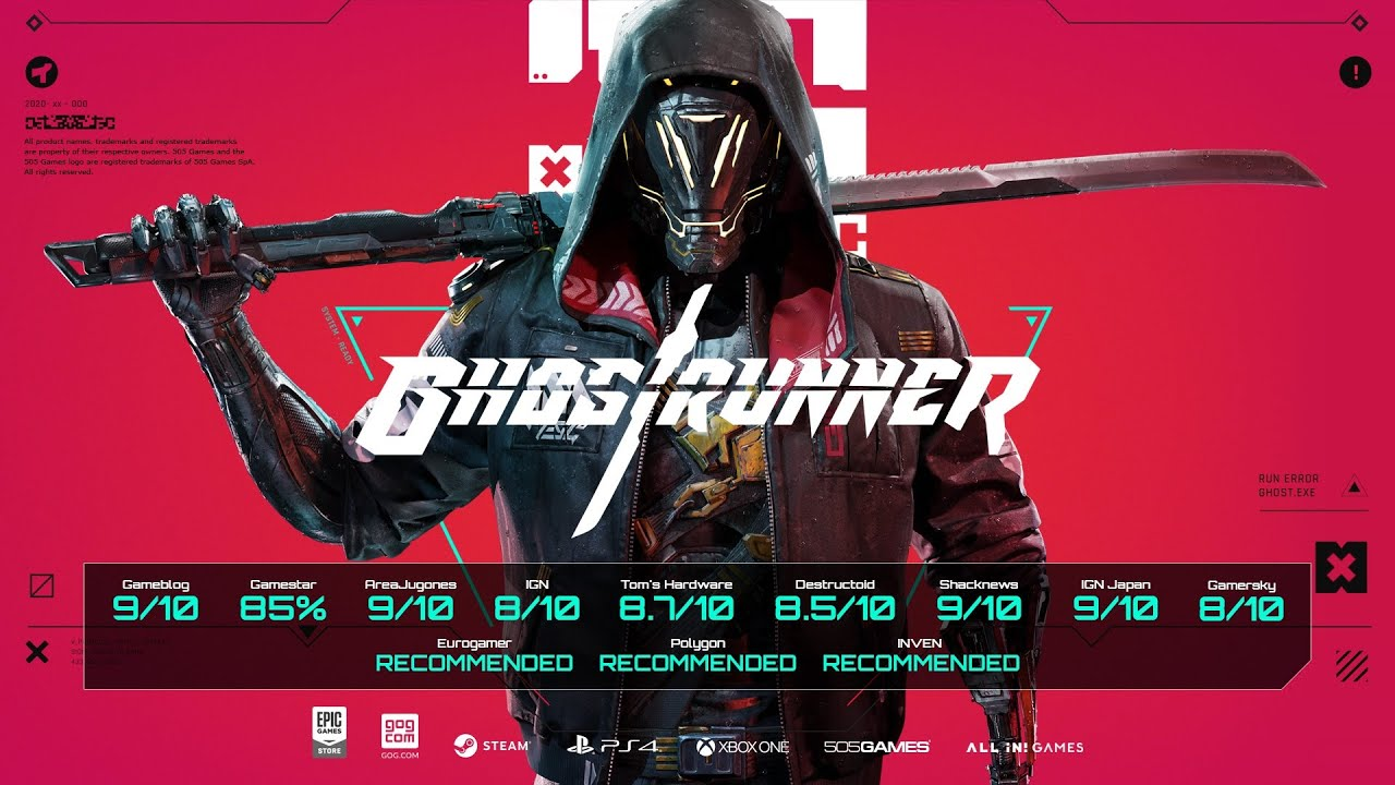 Ghostrunner's High-Speed Cyborg Ninja Action Soars to Consoles with a New Demo