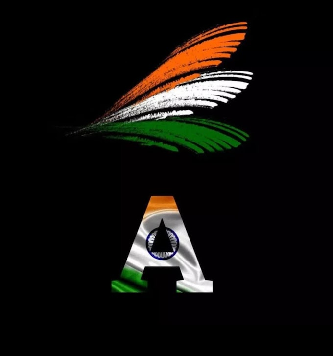 Amazing Republic Day Alphabets A to Z Letter in Indian Flag Pictures 2021
