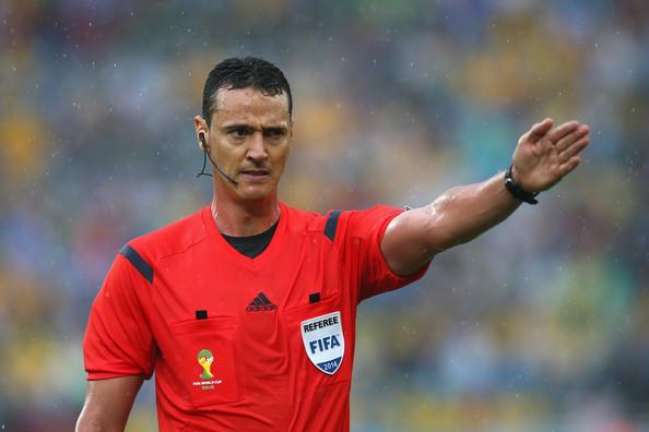 Law 5 - The Referee: 2018 FIFA World Cup Match 14: Tunisia