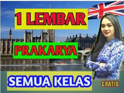 RPP 1 Lembar Prakarya Kelas 7, 8, 9 semester 1 dan 2