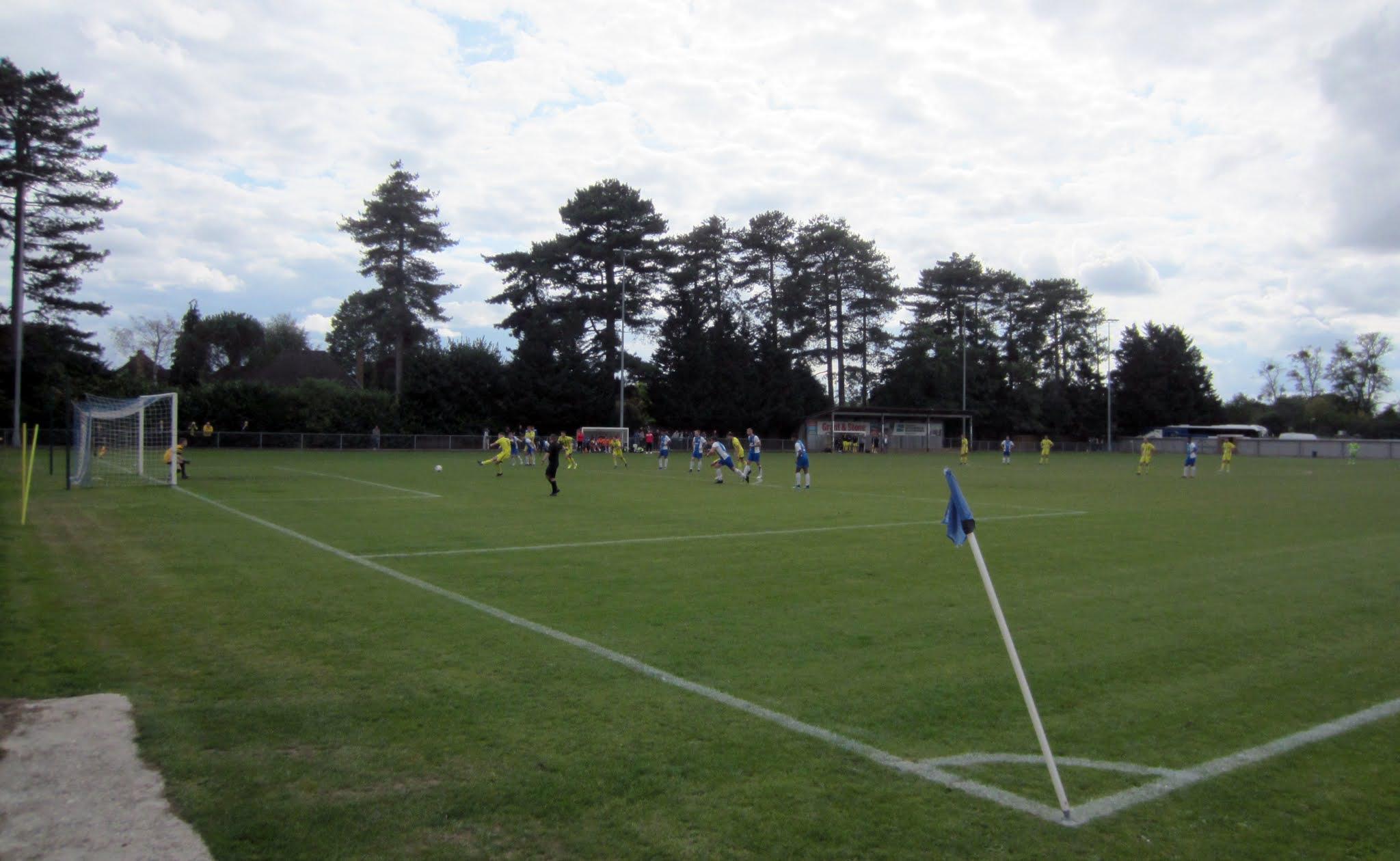 River Allen scores a penalty for Tiverton Town