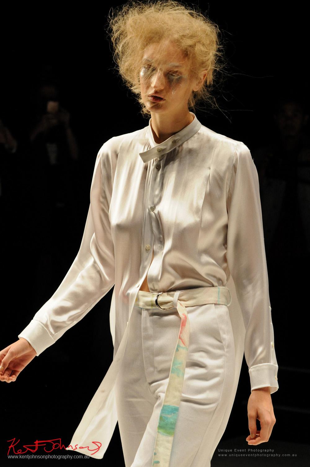 DE LA MOTTE; Anne De La Motte - Designers from Raffles International Showcase 2016 - MBFWA  Photographed by Kent Johnson.