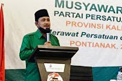 AM Nasir dipercaya memimpin DPW Partai Persatuan Pembangunan (PPP) Kalbar
