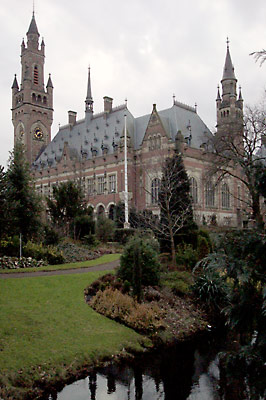 PEACE-ART project: Peace Palace, the Hague, the Netherlands