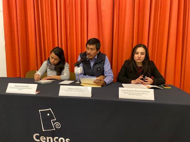 CNPA MN ADVIERTE OTRA MASACRE EN CHIAPAS CONTRA LÍDERES SOCIALES